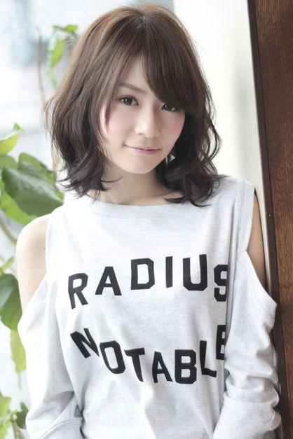 伸ばしかけミディアムパーマ   東京都・銀座の美容室 AFLOAT JAPANのヘアスタイル   Rasysa(らしさ)