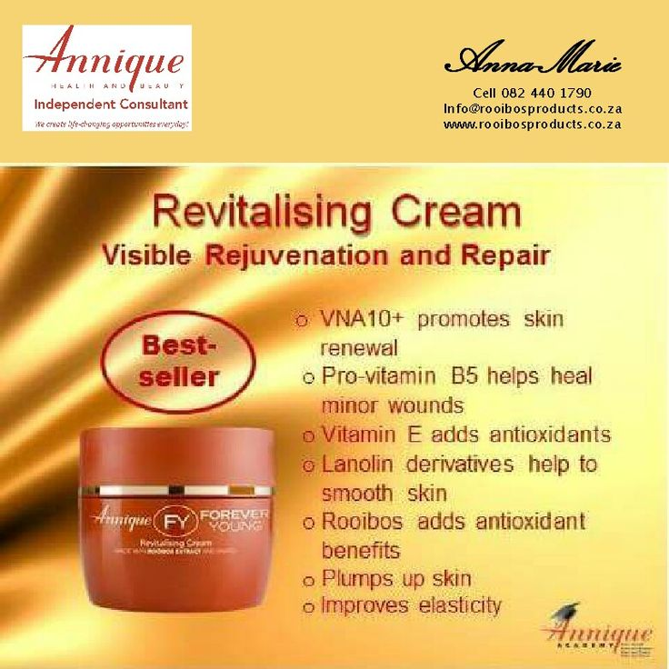 Annique Revitalising cream with rooibos