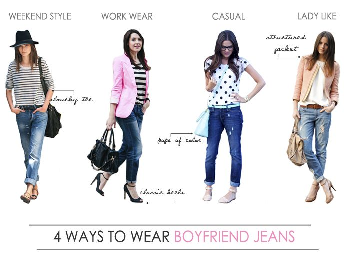 25 best images about How to Wear | Boyfriend Jeans on Pinterest ...
