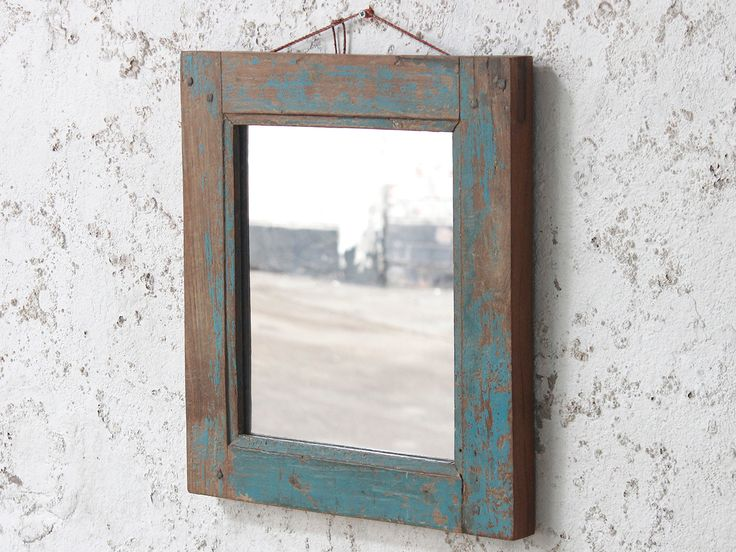 Blue Wall Mirror from Scaramanga's vintage furniture and interior collection #Vintage #interior #homeinspo #inspiration #ideas #homedecorideas #mirror #blue