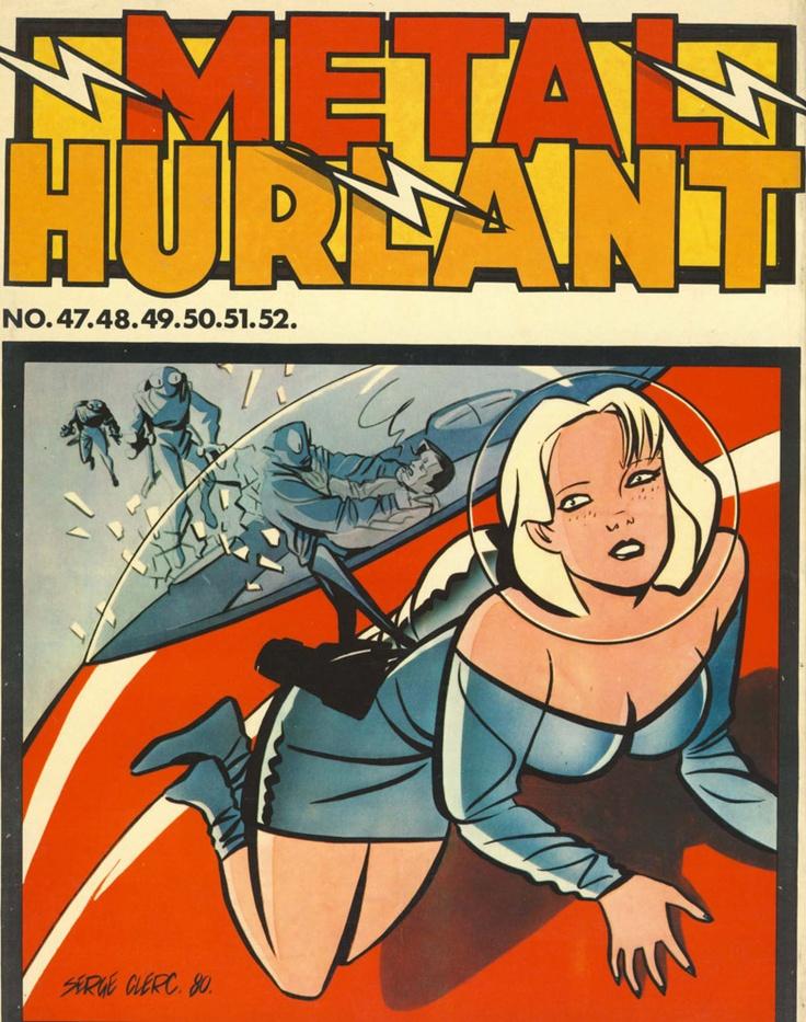 Serge Clerc - recueil Métal Hurlant 1980