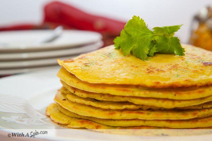 Chapri/Chapti - Bangladeshi Savory Pancake | With A Spin