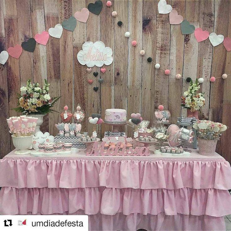 """173 Likes, 4 Comments - Festa Linda (@festalindainfantil) on Instagram: """"#Repost @umdiadefesta (@get_repost) ・・・ Chuva de amor!  . . .  Por @ruthgotz - .  #babyshower…"""""""