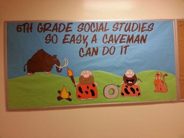 6th Grade Social Studies Classroom Decorations ~ Th grade social studies board i made for my son s school
