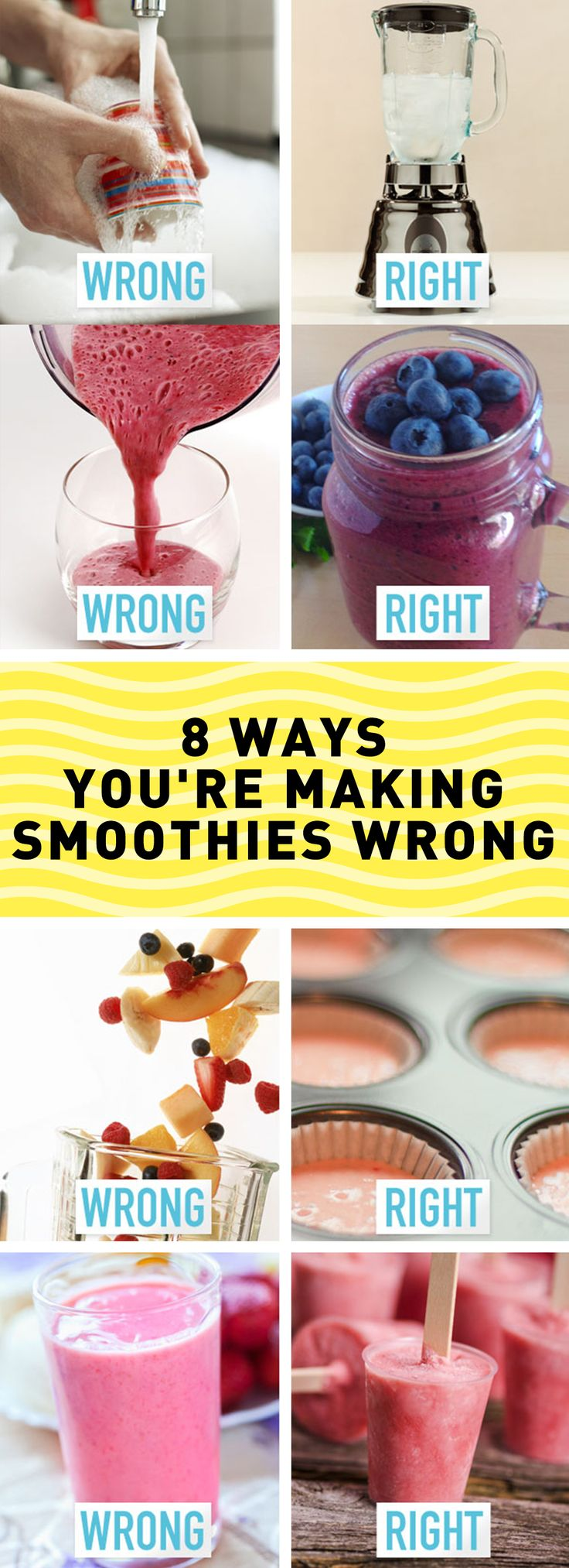 These hacks will make drinking smoothies SO much better.