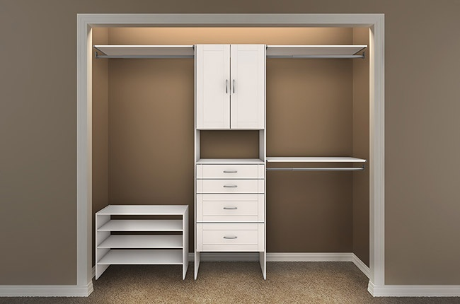 Closet Maid Design Idea 4 S Home Remodel Pinterest Bedroom Organization And