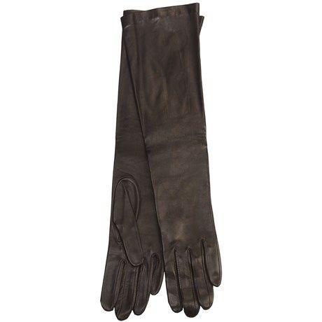 Cire by Grandoe Beauty Sheepskin Gloves - Silk Lining (For Women)