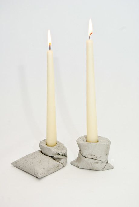 Kappa-Concrete-Candleholder  Made in Berlin by LJ Lamps  #concrete #candelholder