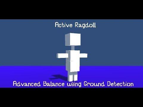 Physics Driven Characters - Advanced Balance using Ground