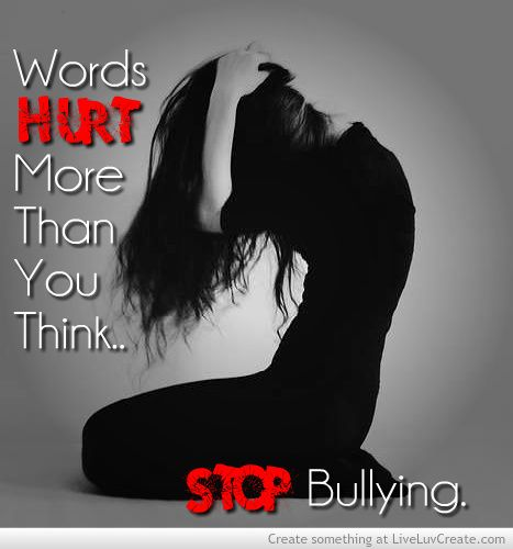 your words can leave scars remeber that the next time you say something to another person