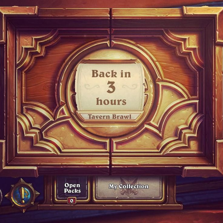 No Tavern Brawl for us tonight #hearthstone #warcraftwednesday