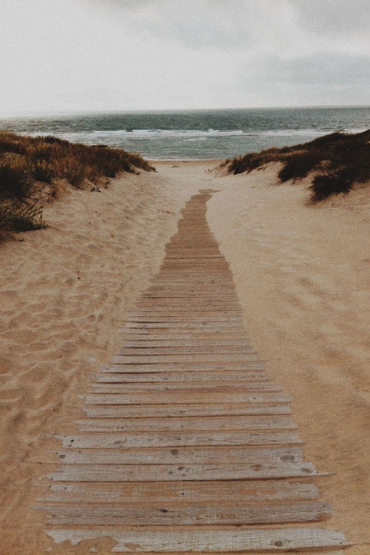 Soulac sur Mer, SouthWest of France, France #Beach #Ocean & #Walk