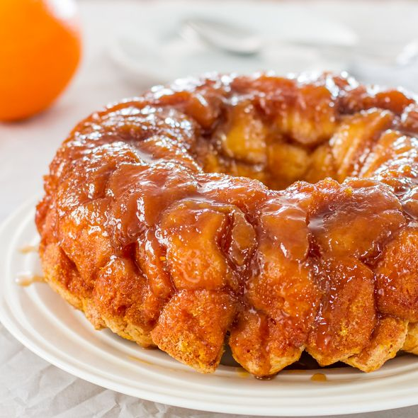 Orange monkey bread - it's sticky, it's gooey, it's orangey, it's caramelly, it's decadent. Perfect for the kid in all of us.