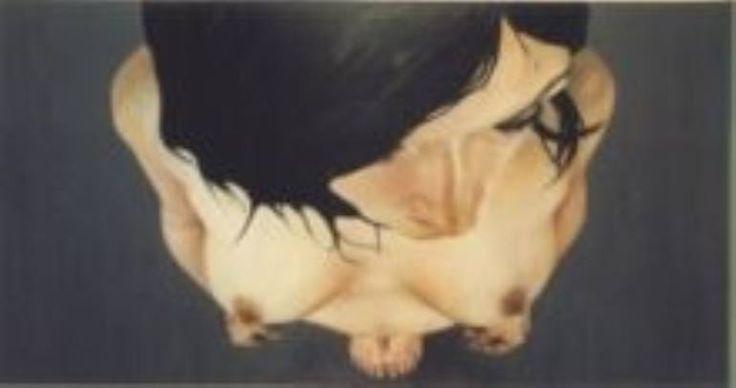 "Saatchi Art Artist Gry Hege Rinaldo; , ""Untitled"" #art Oil on canvas."