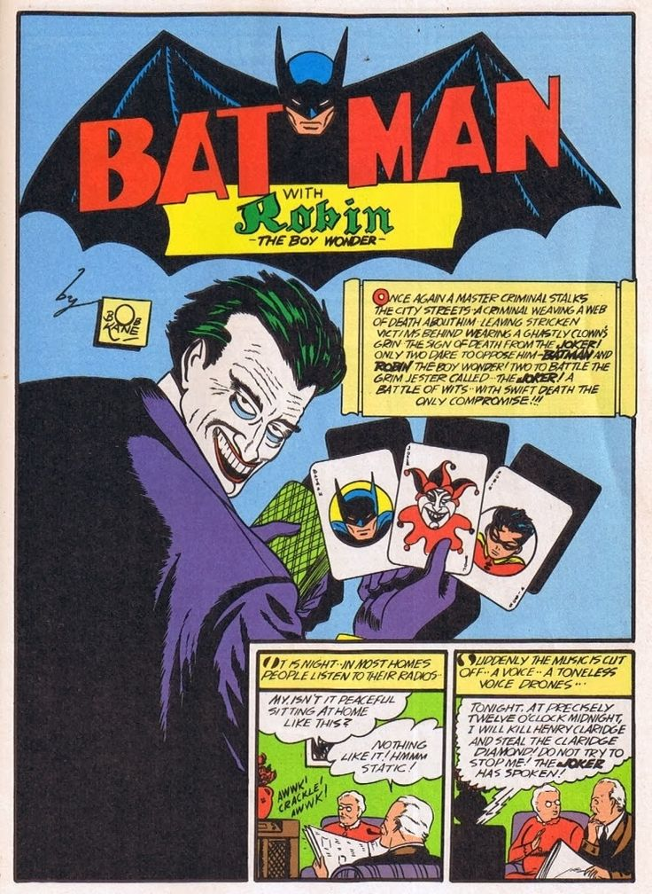 The Joker  has been Batman's  number one nemisis ever since his debut in Batman…