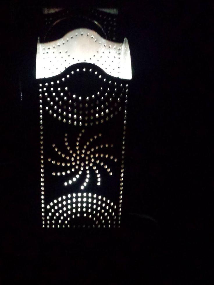 Diaz Useche Artesanos: lámpara Iluminatti de habitación