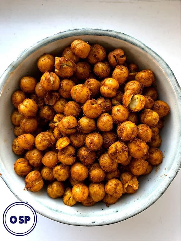 These easy, tasty, roasted chickpeas are Zero points on Weight Watchers Freestyl…   – weight watcher recipe