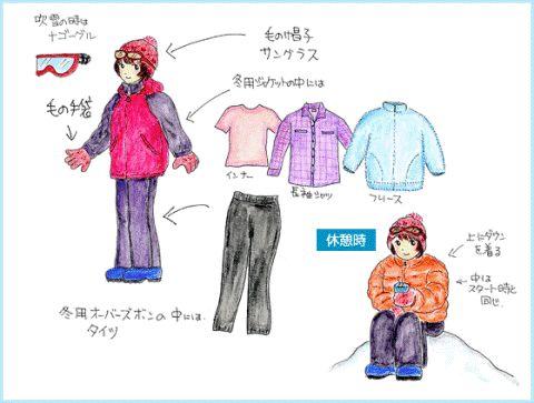 Pakaian musim dingin di Jepang
