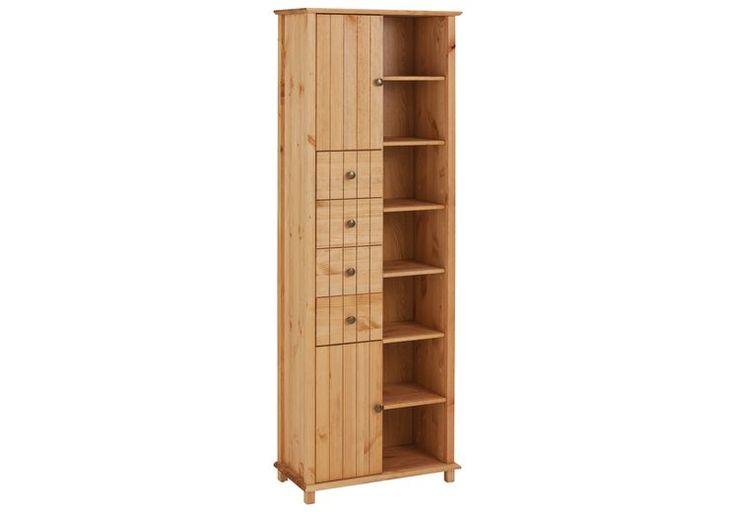 Welltime Hochschrank »Vili«, Breite 60 cm, 2 Türen, 4 Schubkästen