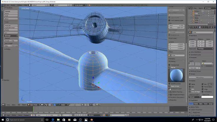 Como mostrar la Topologia en un render usando OpenGL Render en Blender