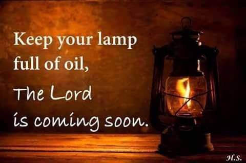No man knows the day or hour when the Son of man will crack the sky. Brothers and sisters let us be ready so we will not be ashamed at his coming!!