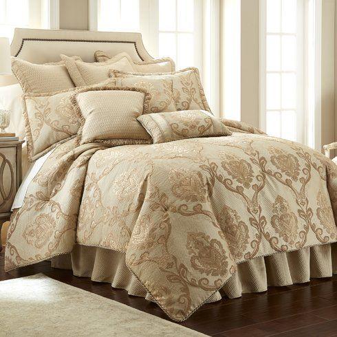 Prosper 4 piece Luxury Comforter Set
