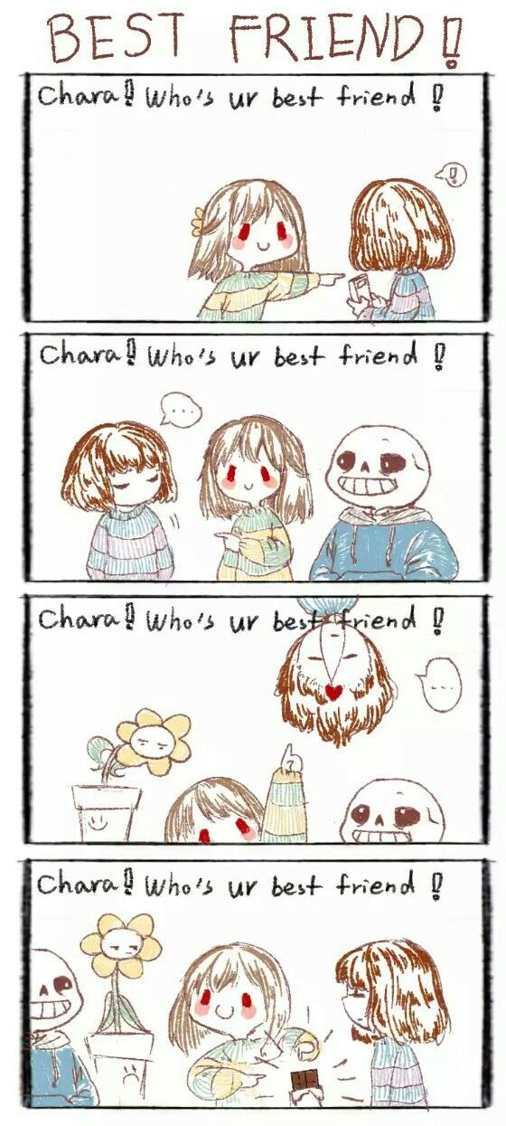 Who's your bestfriend undertale