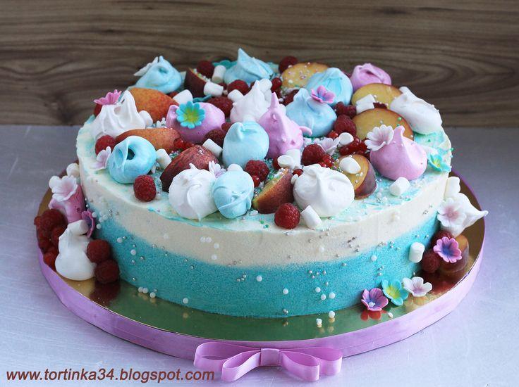 Кремовый торт. Наполеон