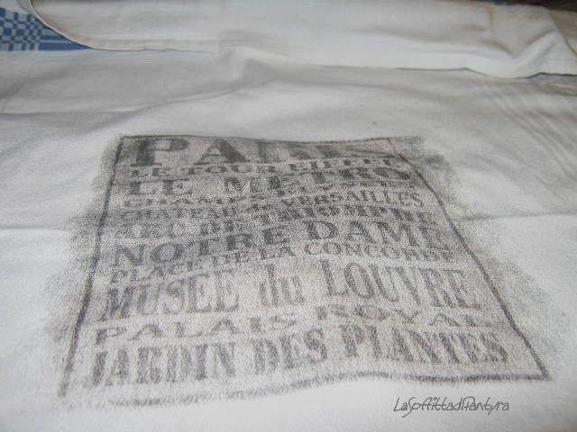 LaSoffittadiPantYra!: trasferimento su tessuto con nitro