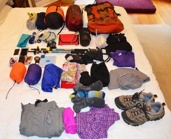 What to take on the Colorado Trail...