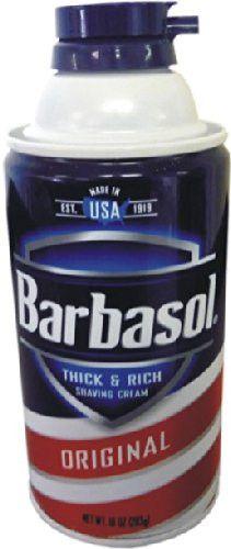 Barbasol Can Safe