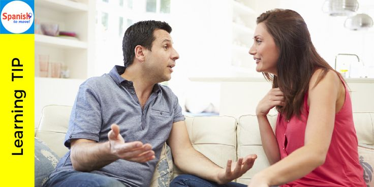 Speak slowly and clearly; the person you are speaking with will express in the same way