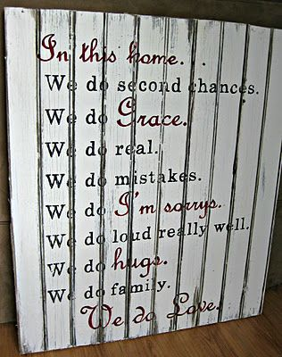 """""""In this house... we do love""""Quotes Prints"""