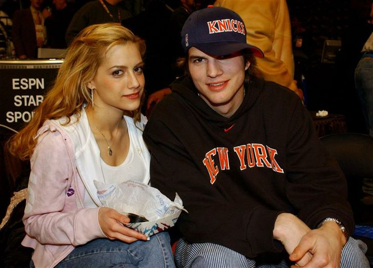 Ashton Kutcher & Brittany Murphy