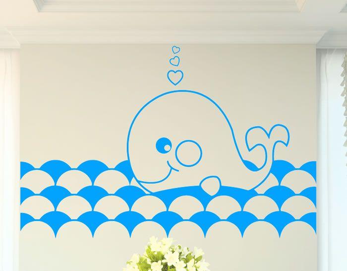 Decoración de #habitacionesinfantiles con vinilos adhesivos 04410 - #vinilosinfantiles, #vinilos bebés, #vinilos niños