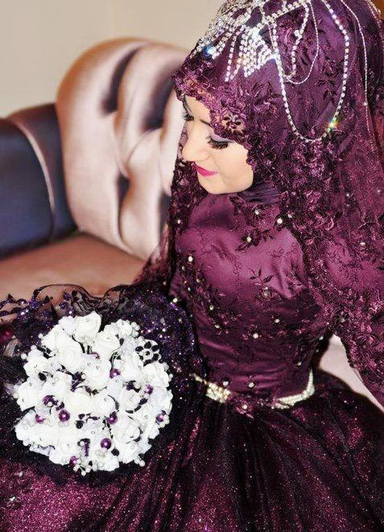 100+ Muslim Wedding Dresses <3 <3  http://www.ultraupdates.com/2014/05/muslim-wedding-  dresses/  #Muslim #wedding #Dresses #MuslimWedding, www.PerfectMuslimWedding.com