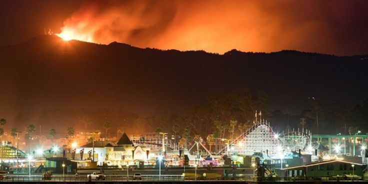 09/27/2016 - The Loma fire has consumed more than 2,000 acres and forced evacuations in Santa Clara County, Calif.