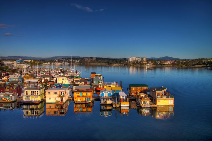 """Fisherman's Wharf in Victoria BC Canada"" by David Gn, via 500px."