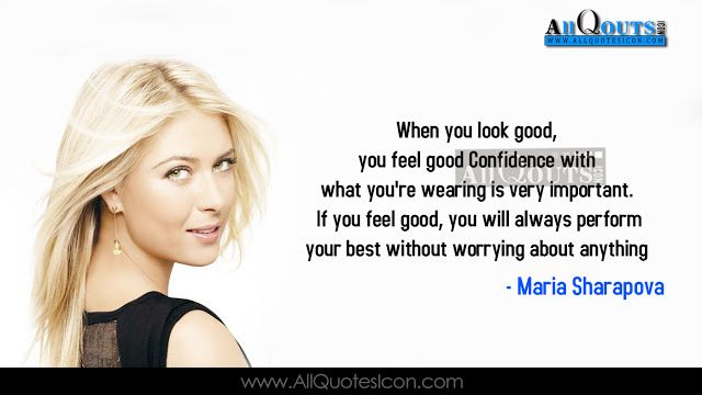 Maria Sharapova Quotes With Images: 1000+ Best English Quotes On Pinterest