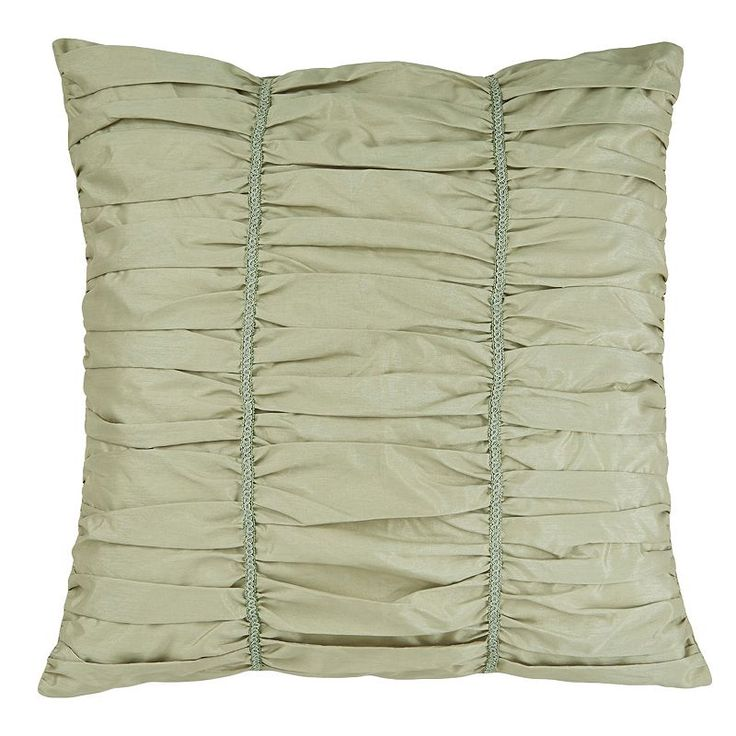 Downton Abbey Crawley European Square Sham, Green