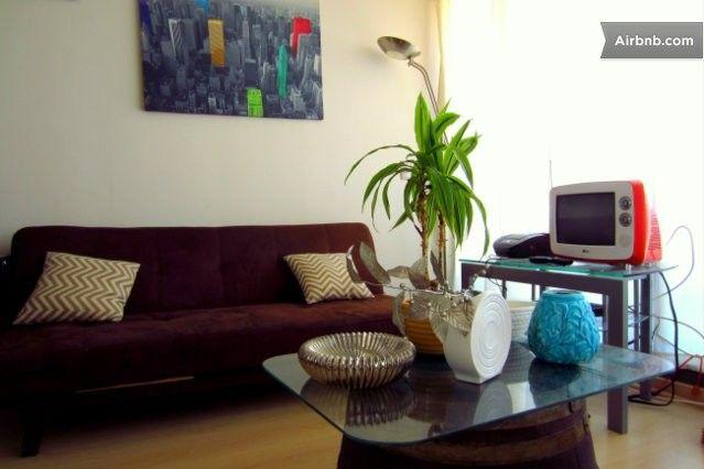 Confortable Departamento Céntrico de 1 Ambiente, iluminado, completamente Equipado, Living con Salida a Balcón (terraza). Cocina Equipada. L...