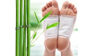10- or 20-Pack of Kinoki Foot Detox Patches help detoxify body and promote tendon and muscle relaxation.