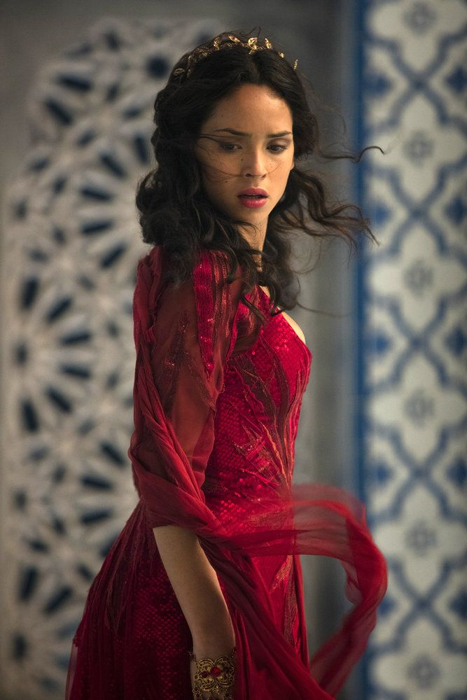 "EMERALD CITY -- ""Mistress-New-Mistress"" Episode 103 -- Pictured: Adria Arjona as Dorothy -- (Photo by: David Lukacs/NBC)"