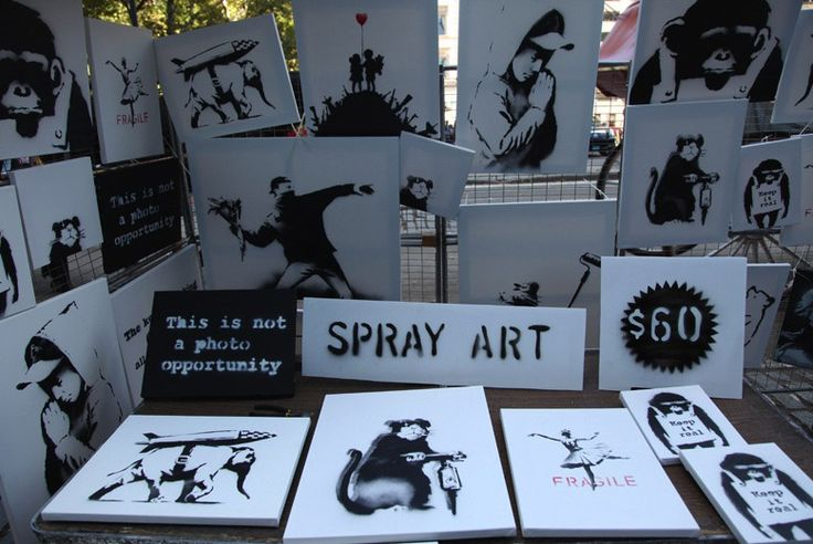 Tourists buy $31K Banksy art for just $60 each. Just goes to show how people are such philistines...