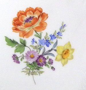 ユーロクラシクス|マイセン ベーシックフラワー 一つ花 二つ花 三つ花 四つ花 五つ花
