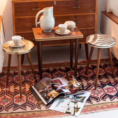 Set of three original Danish style Retro occasional tables - Available for R 480 @ www.moregoodstuff.co.za