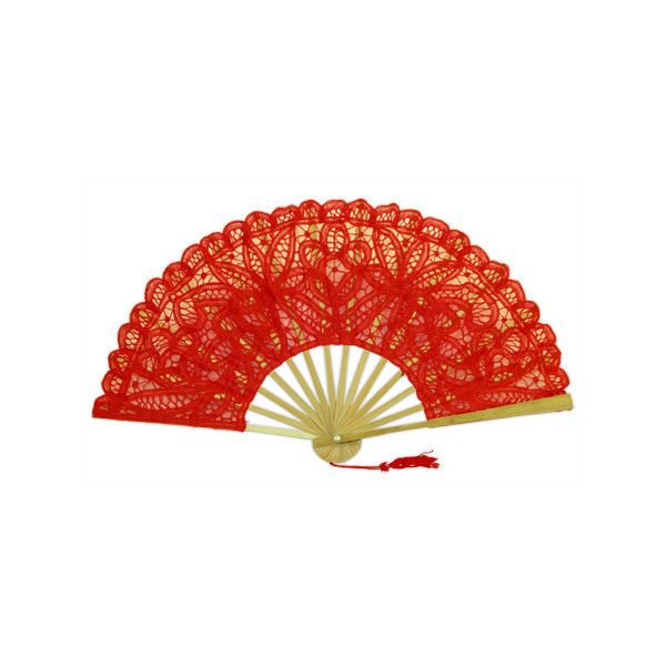 battenberg lace fan red liked on polyvore featuring home home decor accessories - Red Home Decor Accessories