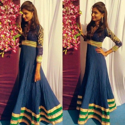 Long dress indian suits hairstyles