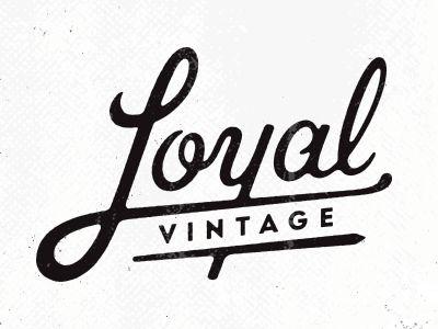 Alex Roka Loyal Vintage Logo Lettering