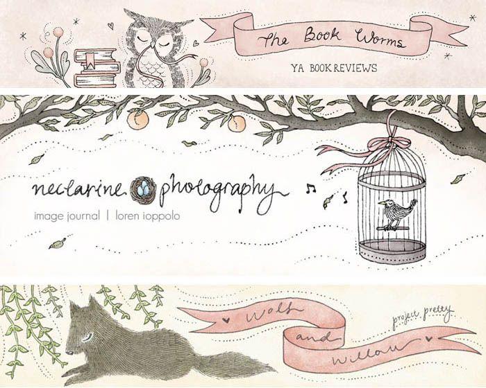 Best 25 Blog Header Design Ideas On Pinterest